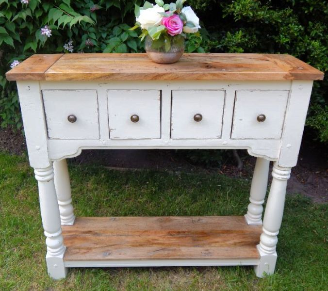 Rustic Console Table (painted finish)
